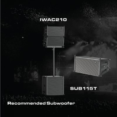 Line array IWAC210 Verity Audio