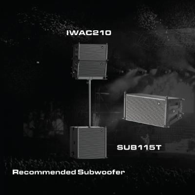 Line array IWAC210 Verity Audio