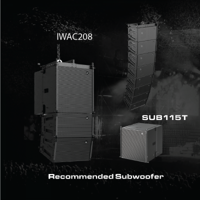 Line Array IWAC208 Verity Audio