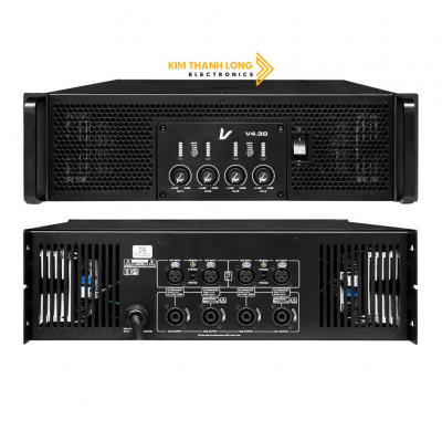 Main Power Amplifier V4 Series Verity Audio