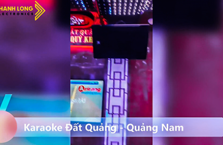 Karaoke Đất Quảng hát là mê say