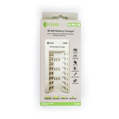 Bộ sạc pin 8 viên Kiwi