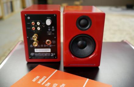 Audioengine A2 plus Wireless - Loa vi tính nhỏ gọn chất âm êm tai có Bluetooth và USB DAC giá 6tr6